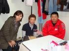 水戸辺仮設住宅でお話を聞かせて頂いた親子(2012年11月)