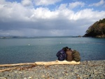海を眺めながら(2012年12月)