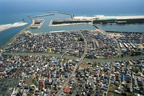 震災前の閖上(2007年5月) 名取市における東日本大震災の記録ホームページより